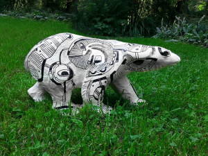 Projects | Hand-painted sculpture
