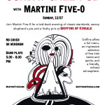 Martini Five-O | Design | Poster | Advertising | Dusia Bach